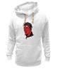 """Толстовка Wearcraft Premium унисекс """"Элвис Пресли Дьявол"""" - король, rock-n-roll, elvis presley, devil, элвис пресли"""