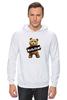 "Толстовка Wearcraft Premium унисекс ""Ted PSS"" - арт, bear, медведь, ted, в любви не без медведя"