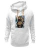 """Толстовка Wearcraft Premium унисекс """"В ожидании новых санкций"""" - арт, bear, медведь, москва, russia, путин, putin, санкции"""