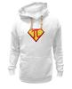 "Толстовка Wearcraft Premium унисекс ""Супер Пи (Super Pi)"" - математика, 14 марта, число пи, день числа пи"