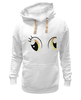 "Толстовка Wearcraft Premium унисекс ""d3rpy eyes"" - pony, mlp, my little pony, derpy, derpy hooves, derpi"