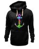 """Толстовка Wearcraft Premium унисекс """"Якорь"""" - море, якорь, sea, путешествия, anchor, sailor"""