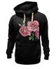 """Толстовка Wearcraft Premium унисекс """"розы"""" - цветы, акварель, розы"""