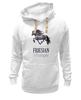 "Толстовка Wearcraft Premium унисекс ""FRIESIAN LIFESTYLE"" - лошадь, horse, фриз"