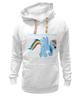 """Толстовка Wearcraft Premium унисекс """"Rainbow Dash 2"""" - pony, mlp, my little pony, пони"""