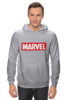 "Толстовка Wearcraft Premium унисекс ""MARVEL"" - comics, комиксы, чудо, будьвтеме"