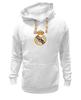 """Толстовка Wearcraft Premium унисекс """"""""Реал Мадрид"""""""" - футбол, цветная, real madrid, реал мадрид, football club, футбольный клуб"""
