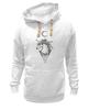 "Толстовка Wearcraft Premium унисекс ""единорог (unicorn)"" - арт, луна, unicorn, единорог, moon, дотворк"