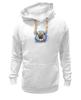 "Толстовка Wearcraft Premium унисекс ""МОПСик"" - pug, мопс, мопсик, рисунок, собаки"