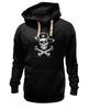 "Толстовка Wearcraft Premium унисекс ""Русский пират"" - россия, герб, путин, пират, ушанка"