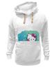 "Толстовка Wearcraft Premium унисекс ""kitty"" - hello kitty, kitty, китти, котенок"