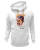 "Толстовка Wearcraft Premium унисекс ""Freddie Mercury - Queen"" - queen, rock music, куин, фредди меркьюри, freddie mercury"