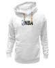 "Толстовка Wearcraft Premium унисекс ""National Basketball Association"" - баскетбол, nba, нба"