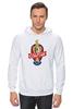 """Толстовка Wearcraft Premium унисекс """"МХК Спартак """" - moscow, спартак, хоккей, молодёжный хоккейный клуб"""