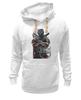 "Толстовка Wearcraft Premium унисекс ""защитник"" - арт, авторские майки, оружие, солдат, защитник отечества, спецназ"
