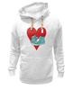 """Толстовка Wearcraft Premium унисекс """"Я люблю кеды!"""" - любовь, арт, style, кеды, nopperapon, keds, kicks"""