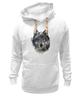 "Толстовка Wearcraft Premium унисекс ""Серый Волк"" - animal, волк, wolf"