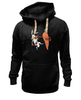 "Толстовка Wearcraft Premium унисекс ""Нокаут"" - спорт, бокс, кролик, морковь, нокаут"