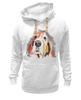 """Толстовка Wearcraft Premium унисекс """"С собачкой"""" - авторские майки, животные"""