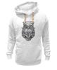 "Толстовка Wearcraft Premium унисекс ""череп в шляпе"" - skull, череп, hat, шляпа, стимпанк"