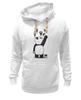 """Толстовка Wearcraft Premium унисекс """"Панда вандал"""" - wwf, панда, panda, животные"""