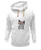 """Толстовка Wearcraft Premium унисекс """"Gansta cat"""" - кот, арт, cat, девушке, хипстер"""