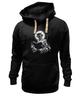 """Толстовка Wearcraft Premium унисекс """"devil"""" - черепа, skulls, демон, сатана, черт"""