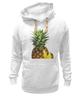 """Толстовка Wearcraft Premium унисекс """"ананас"""" - ананас, фрукт, pineapple"""
