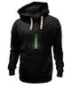 "Толстовка Wearcraft Premium унисекс ""Soulful"" - майки, cosmos, минимализм, neon, futuristic"