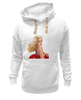 """Толстовка Wearcraft Premium унисекс """"Блондинка"""" - сердце, сердечко, эротика, блондинка"""