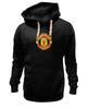 "Толстовка Wearcraft Premium унисекс ""Манчестер Юнайтед"" - манчестер юнайтед, manchester united"