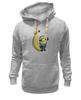 "Толстовка Wearcraft Premium унисекс ""Миньон с Бананом"" - banana, банан, гадкий я, minion"