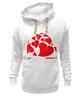 """Толстовка Wearcraft Premium унисекс """"love"""" - сердце, сердечко, love is"""