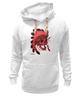 "Толстовка Wearcraft Premium унисекс ""Skull"" - skull, череп, рисунок, индеец, дикий запад"