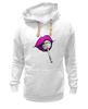 "Толстовка Wearcraft Premium унисекс ""pink lips"" - арт, губы, pink, розовый, чупа-чупс, lips, леденец, lolipop"