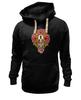 """Толстовка Wearcraft Premium унисекс """"Horror Art """" - skull, череп, арт, гроб, розы, roses, coffin"""