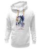 """Толстовка Wearcraft Premium унисекс """"Год лошади (с надписью)                        """" - арт, новый год, год лошади, символ 2014"""