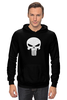 "Толстовка Wearcraft Premium унисекс ""The punisher"" - marvel, punisher, каратель, the punisher"