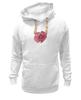 """Толстовка Wearcraft Premium унисекс """"Стилизованный  винтажный арт-цветок"""" - арт, авторские майки, цветы, узор, стиль, flower, рисунок, винтаж, мак, poppy"""