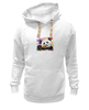 "Толстовка Wearcraft Premium унисекс ""Панда с леденцом"" - арт, панда, panda, lollipop, artberry"