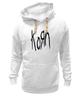 "Толстовка Wearcraft Premium унисекс ""Korn (KoЯn)"" - korn, ню-метал"