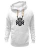 """Толстовка Wearcraft Premium унисекс """"Самурай """" - маска, самурай, япония"""