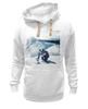 "Толстовка Wearcraft Premium унисекс ""Сноуборд"" - горы, сноуборд, snowboard, mountains"