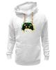 "Толстовка Wearcraft Premium унисекс ""Игрок (Геймер)"" - gamer, геймер, xbox, джойстик, геймпад"