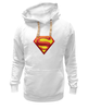 """Толстовка Wearcraft Premium унисекс """"супермен"""" - супермен"""