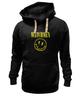 "Толстовка Wearcraft Premium унисекс ""Watchmen x Nirvana"" - смайл, nirvana, smile, хранители, watchmen"