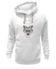 """Толстовка Wearcraft Premium унисекс """"Лиса в очках"""" - очки, fox, лиса"""