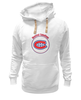 "Толстовка Wearcraft Premium унисекс ""Montreal Canadiens"" - хоккей, nhl, нхл, montreal canadiens, монреаль канадиенс"