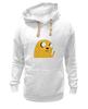 "Толстовка Wearcraft Premium унисекс ""Adventure Time: Jake Dog"" - adventure time, время приключений, jake"