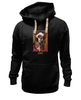 "Толстовка Wearcraft Premium унисекс ""Blessed prayer"" - арт, девушка, tattoo, крест, тату, молитва, sugar skull"